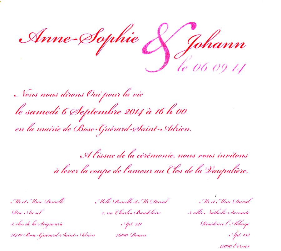 Texte Faire Part Mariage Religieux Rp81 Montrealeast